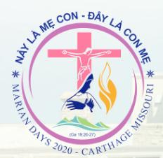 Thông Báo Hoãn Lại Ngày Thánh Mẫu 2020